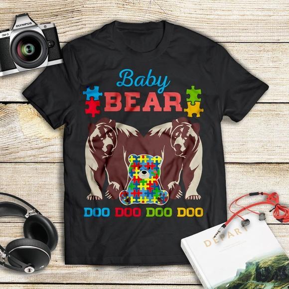 13c34fbf ManekiBB Shirts & Tops   Baby Autism Bear Doo Doo Doo Cute Autism ...